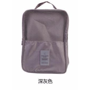Harga Shoes Storage Bag Travel Waterproof Tote Shoes Pouch Organizer Toiletries Laundry Shoe Pouch