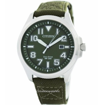 Harga Citizen AW1410-32X Men's Watch Casual (Green)