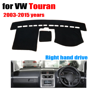 Harga Car dashboard covers mat for VW Volkswagen TOURAN 2003-2015 years Right hand drive dashmat pad dash cover dashboard accessories