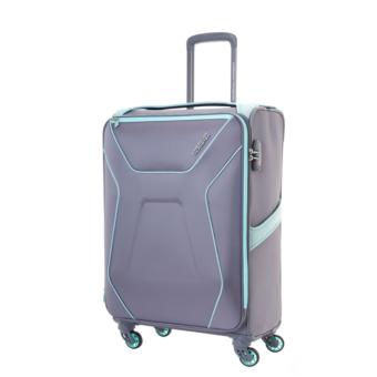 Harga American Tourister Air Shield Spinner 55/20 Exp TSA (Light Grey)