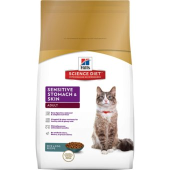 Harga Science Diet Feline Sensitive Stomach and Skin 3.5lbs