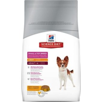 Harga Science Diet Canine Small & Toy Light 1.5kg