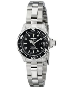 Harga Invicta Pro Divers 200M Quartz Women's Silver Stainless Steel Strap Watch INV8939