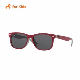 Harga Ray-Ban Kids Sunglasses - RJ9052SF - Top Red Fuxia On Gray (177/87) Size 50 Grey