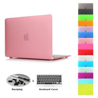 JUSHENG® Pro 13 Retina A1706/A1708 3in1 MacBook Matting Plastic Hard Case with keyboard cover + Dust Plug for Newest Macbook Pro 13 Inch with Retina Display No CD-ROM (A1706/A1708, Oct 2016) - intl