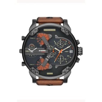 Harga JOOX Diesel 7332 Black Dial Quartz Men's Watch Brown - intl