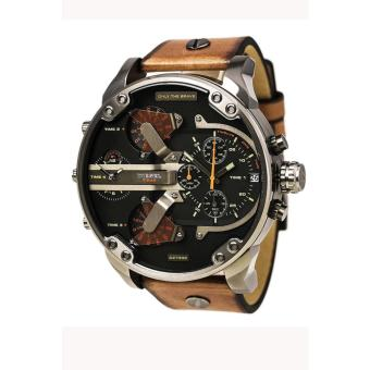 Harga JOOX 2017 Diesel 7332 Black Dial Quartz Men's Watch Brown - intl