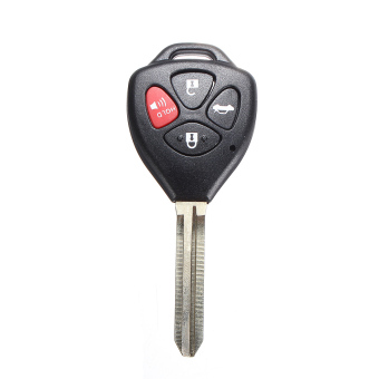 Harga New 4 Button Remote Key Keyless Shell for TOYOTA Carola Fe 2008-2012 Uncut Blade