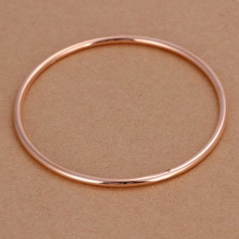 Harga Rose Gold Narrow Width Bracelet For Men