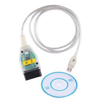 Harga OH Mini VCI 16 Pin OBD2 Diagnostic Scanner Cable for Toyota Tis Techstream (White)