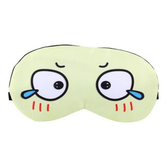 Harga Cartoon Cooling Heating Eye Mask Soft Removable Ice Bag Eye Protection Mask- #1 - intl