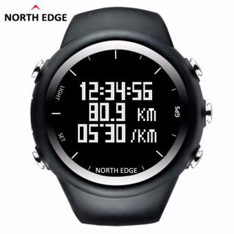 NORTH EDGE GPS Running Sports Digital Watch Men and Women Smart Watch for Swimming Diving Sailing Hiking Waterproof 5atm Distance Calories