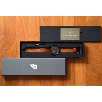 BOLDR Journey Chronograph - Warhawk + FREE Black Nato Leather Strap - 5