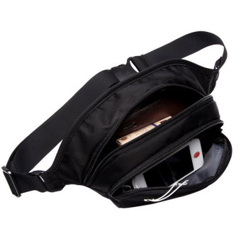 "New Brand SWISSGEAR/SCHWYZ+CROSS Waterproof Polyester 7"" Laptop SWISS Unisex Fashion Shoulder Bag Solid Waist Bag JDB94 - Intl - 4"