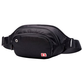 "New Brand SWISSGEAR/SCHWYZ+CROSS Waterproof Polyester 7"" Laptop SWISS Unisex Fashion Shoulder Bag Solid Waist Bag JDB94 - Intl - 2"