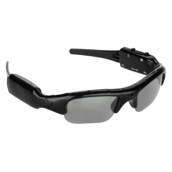 Bluelans Mini HD Glasses Spy Hidden Camera Sunglasses Eyewear DVR Video Recorder Cam - intl