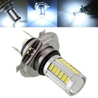 Harga Super Bright H4 SMD5630 LED White Auto Car Fog Driving Light Headlight Lamp 12V - intl