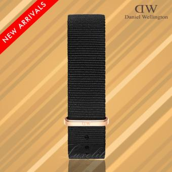 Daniel Wellington Wristband Strap Classic Black Cornwall 20mm RG