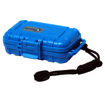 Harga Dolfin waterproof BOX D5001-dauphin blue proof box earphones box storage box BLUE abs plastic SAFETY box