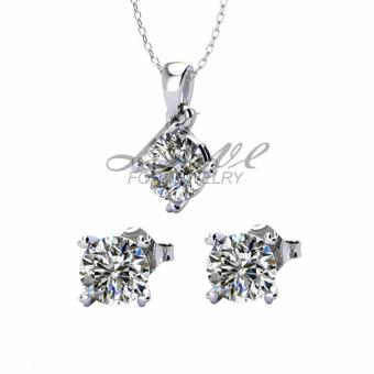 Harga Avery Pendant and Earring Set (Crystals from Swarovski®)