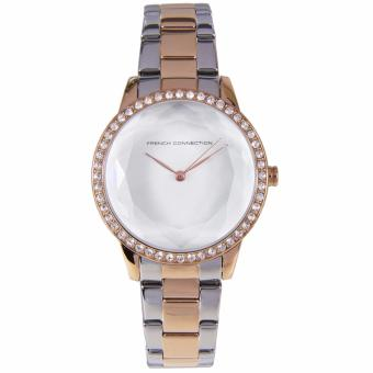 Harga FC1215SRGM French Connection UK Two Tone Stainless Steel Female Watch