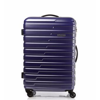 Harga American Tourister Handy Spinner 70 TSA (Matt Blue Checks)