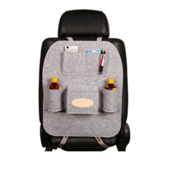 Harga ERA 55*40cm Multifunction Felt Cloth Hanging Organizer Car Seat Back Storage