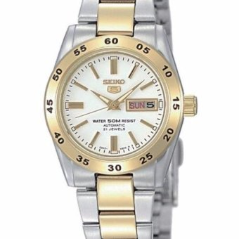 Harga SEIKO LADY AUTOMATIC 50M TWO TONE SYMG42K1