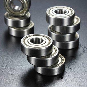 10Pcs 6000-2Z Metal Sealed Shielded Deep Groove Ball Bearing 10x26x8mm - intl - 5