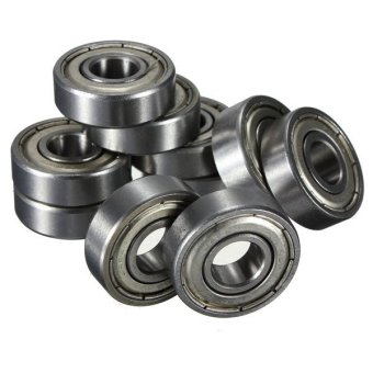 10Pcs 6000-2Z Metal Sealed Shielded Deep Groove Ball Bearing 10x26x8mm - intl - 2