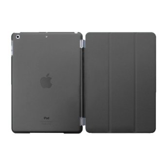 Harga Welink Detachable Tablet Smart Cover + Slim Transparent Back Case for Apple iPad Mini 1/2/3 (Black) (Intl)