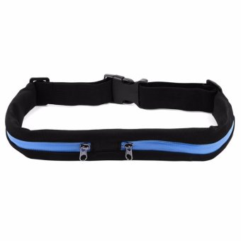 Harga Travel Sport Waterproof Waist Bag Running Cycling Belt Waist Pack - intl