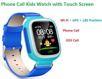 2Cool Kids Smart Watch with Touch Screen Phone Call WiFi Position Anti Lose SOS GPS Tracker Children SmartWatch for iPhone Android - intl