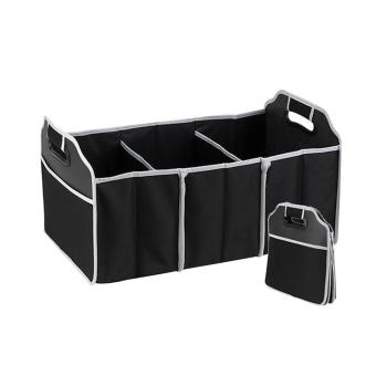 Harga Beau Quality 2-in-1 Car Boot Organiser Shopping Tidy Heavy Duty Foldable Storage - intl