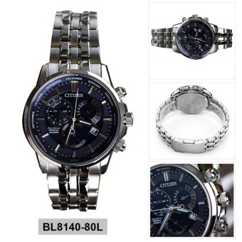 Harga Citizen Watch Eco-Drive PERPETUAL CALENDAR Silver Stainless-Steel Case Stainless-Steel Bracelet Mens Japan NWT + Warranty BL8140-80L