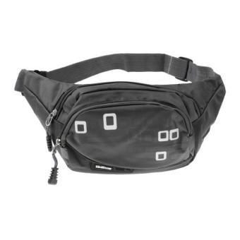 Harga MagiDeal Outdoor Sports Fanny Pack Belly Waist Bag Running Cycling Belt Pouch Black - intl