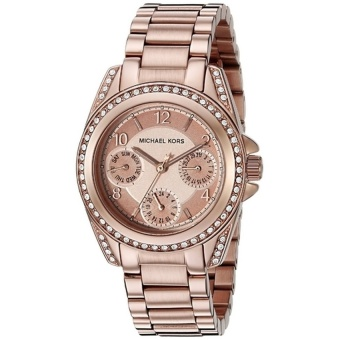 Michael Kors Blair Women's Rose Gold Stainless Steel Strap Watch MK5613