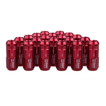 Harga M12 x 1.5mm 20pcs D1-Spec Red JDM Wheel Lug Nut for Honda Civic Integra (EXPORT)