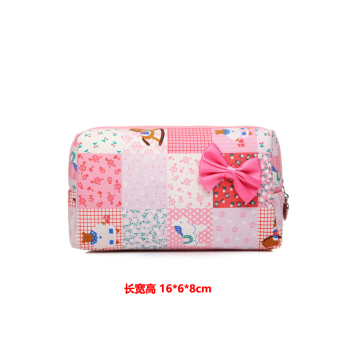 Harga Small portable mini small lady cosmetic bag korea cute small square package clutch female big capacity wash bag