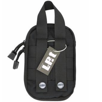 LefRight Black Mini Tactical Molle EDC Compact Pocket Organizer Pouch - intl - 3