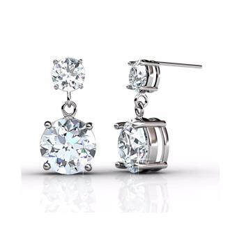 Harga Snowman Earrings - Crystals from Swarovski®