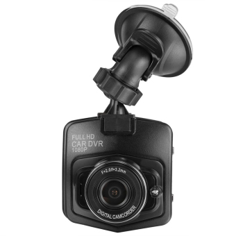 Harga Full HD 1080P Night Vision Car DVR Vehicle Camera Video Record Dash Cam G-Sensor - intl