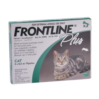 Harga Frontline Plus for cats 3 Doses