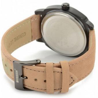 Curren Men's Black Leather Strap Watch 8139 - 3