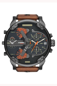 Harga Diesel DZ7332 Black Dial Quartz Men's Watch Brown