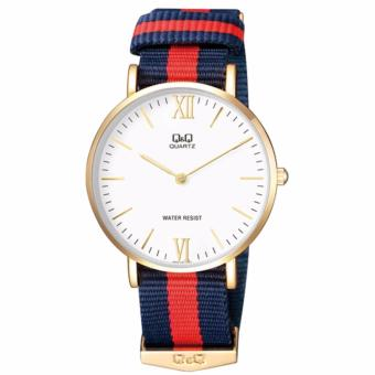 Harga Q & Q By Citizen Watch Nylon Belt Navy Q974J131Y Men