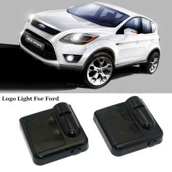 2 x Ghost Shadow Light Welcome Laser Projector Lights LED Car Logo For Ford Mondeo MK3 MK4 Mustang Kuga Fusion Focus 3 2 - Intl ...