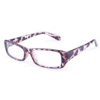 [Buy 1 Get 1 Freebie] AORON Brand New Style Anti-radiation Reading Glasses Anti-fatigue Computers Glasses Gold Film Eyeglasses 21007Leopard - intl - 3