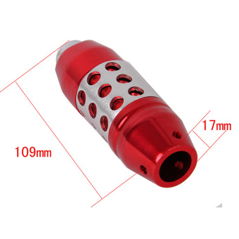 Possbay Momo Red Aluminum Car Gear Shift Knob Cover Shifter Lever Universal Fit Automatic Transmission - intl - 5