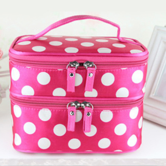 Harga Worth of wave point double cosmetic bag